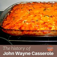 Celebrity Inspired Recipes - John Wayne's Chili Cheese Casserole - Healthy Dinners Pies Sweets and Desserts Cooking for Families and Holidays - Crock Pot Treats Beef Casserole Recipes, Egg Casserole, Noodle Casserole, Easy Ground Beef Casseroles, John Wayne Casserole, Dinner With Ground Beef, Macaroni And Cheese, Favorite Recipes, Vegetarian Cheese