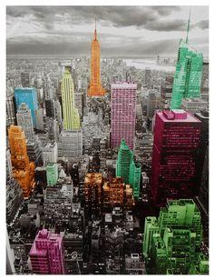 High-Lights of New York Skyline