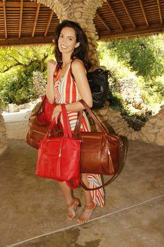 Lily Jade Designer Diaper Bags... Just like TORI McDermott! Love the Red!