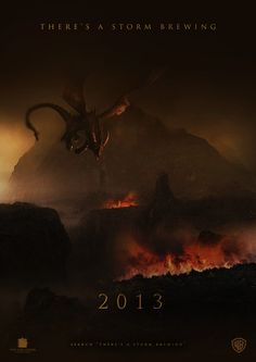The Hobbit: The Desolation of Smaug - Teaser Poster http://tumblr.hollywoodjunket.com/post/40410012192/the-hobbit-the-desolation-of-smaug-teaser-poster-1-12-13# #Film