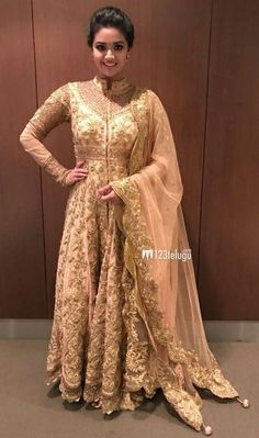 Keerthi Suresh Men's Fashion, Fashion Week, Indian Fashion, Trendy Fashion, Samantha In Saree, Anarkali Dress, Lehenga, Indian Wedding Outfits, Wedding Dresses