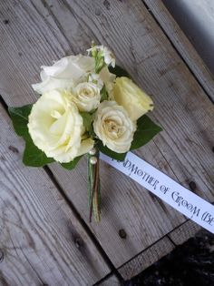 beautiful mother of the bride flowers | ... corsage lisianthus mother of the bride mother of the groom pearls rose $25.00