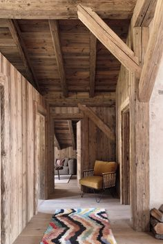 Chalet Design, Chalet Style, Cabin Design, Wood Design, Ski Chalet, Winter Cabin, Safe Haven, Cabins In The Woods, Outdoor Furniture