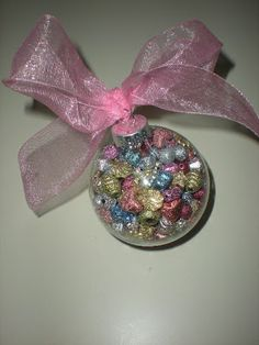 roommom27 Pastel Pink Ornament
