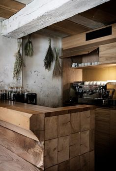 Nordic Restaurant Barr Interior by Snohetta, Copenhagen – Design. Noma Restaurant, Woods Restaurant, Interior Design Minimalist, Restaurant Interior Design, Schmidt, Scandinavian Restaurant, Simple Cafe, Design Scandinavian, Copenhagen Design