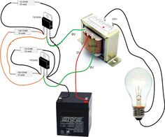 Simple Inverter Circuit Diagram - Electrical Blo g Electronics Projects, Electronic Circuit Projects, Electrical Projects, Electrical Installation, Electronics Components, Electronic Engineering, Electrical Wiring, Diy Electronics, Electrical Engineering