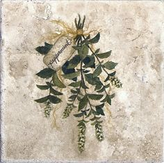 http://www.stoneimpressions.coPeppermint-Stone-Tile-Herb-Accent