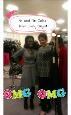Celebrity Kim Coles picking up our best seller! Long lace lingerie!