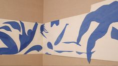 henri matisse: the swimming pool, nice, 1952