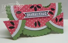 Debbie's Designs: The best part of summer....watermelon!