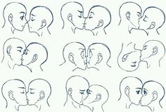 kisses, manga, how drawing anime