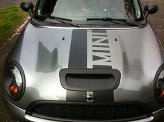Mini Cooper custom graphic