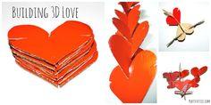 3D Building Valentine Activity