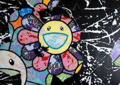 "Saatchi Art Artist Campbell La Pun; Painting, ""Flours of Copy Wripe Stewp (Black)"" #art"