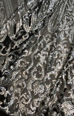 Stretch Sequins Fabric (Silver) Sequin Fabric 9f7f6ac390d3