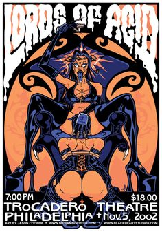 Lords of Acid poster