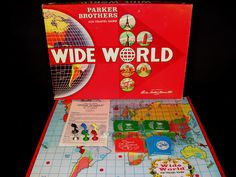 Wide World Travel Game (itemised)