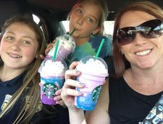So we tried the #unicornfrappuccino today....not as good as it sounds.