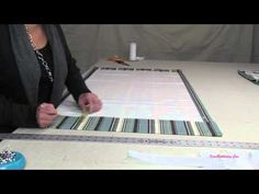 How To Make A Roman Shade Part 1 - YouTube This is amazing and sooooo easy to make a Roman Shade.