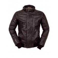 Blouson cuir tucano urbano TOBA 8859 Blouson en cuir pour homme avec allure  classique moto. 8eb71c708b92