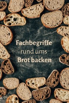 Fachbegriffe rund ums Brot backen Deserts, Apple Cake, Croissants, Cookies, Chocolate, Videos, Glass, 3 Ingredient Cakes, Chef Recipes