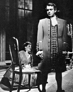 Ettore Bastianini and Birgit Nilsson in a scene from Verdi's Un Ballo in Maschera