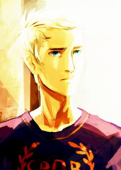 Day 2- Jason Grace. He's a son of Jupiter  a praetor of the 1st legion at Camp Jupiter. Some of his best qualities include- courageous, loyalty, determination, natural-born leader  a great sense of focus