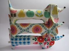 Handmade by alice apple: sausage dogs