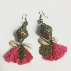 Fortune Cookie Earrings - kraken & co. emporium