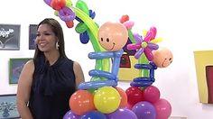 Marshmallow Shooter, Twisting Balloons, Ballon Decorations, Balloon Bouquet, Flower Wall, Diy Tutorial, Ideas Para, Baby Shower, Youtube