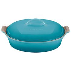 Stoneware 4 Qt. Oval Casserole Color: Caribbean ** Read more reviews of the product by visiting the link on the image.