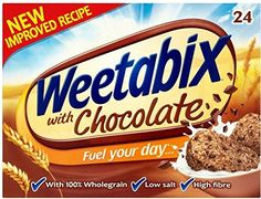 Weetabix Chocolate (24 per pack - 540g) - Pack of 2 -- This is an Amazon Associate's Pin. To view further for this item, visit this Amazon Affiliate link.