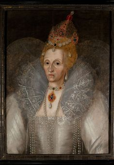 Rare wrinkly Elizabeth I on display at the Folger Shakespeare Library through May 19.