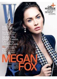Megan Fox - W Magazine [United States] (March 2010)
