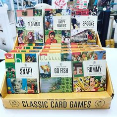Classic Ladybird card games. Great for the whole family! Come into Kapa at @queenstownairport to grab some of these for your next games night. Only $19 each game.