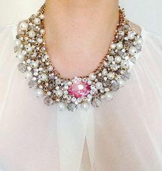Amazing Necklace by Marina Fossati Amazing, Jewelry, Fashion, Moda, Jewlery, Jewerly, Fashion Styles, Schmuck, Jewels