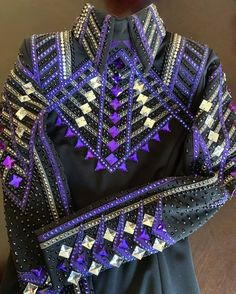 Western Show Shirts, Western Show Clothes, Horse Show Clothes, Riding Clothes, Western Outfits, Show Jackets, Western Riding, Western Pleasure, Sparkles Glitter