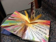 One of the most popular juvenile pop-up space books. Has nice illustrations and good paper engineering for the pop-ups. This book is inexpensive to find used and is fun to look at.  The pop-up of the lunar landing is particularly striking. Reprinted in 1974 with board cover with colour photograph. http://dreamsofspace.blogspot.co.uk/