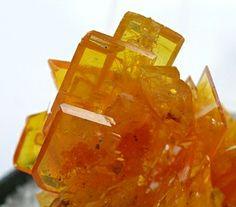 Wulfenite - San Francisco Mine, Cucurpe, Sonora, Mexico  mw