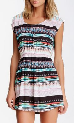 Mimi Chica   Aztec Dress