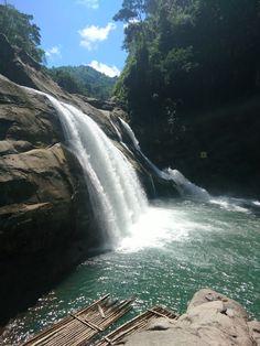 Tangadan Falls in La Union, Philippines.