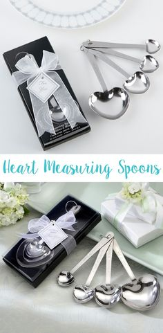 love beyond measure heart measuring spoon wedding favor