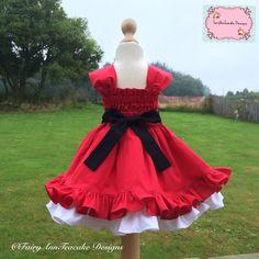 Mrs Claus Christmas dress