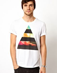 ASOS T-Shirt With Triangle Print