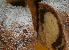 Marble Marble Cake from Hera NejRecept. Marble Cake, Banana Bread, Desserts, Food, Fitness, Author, Tailgate Desserts, Deserts, Essen
