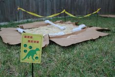 36 Best Ideas For Dinosaur Birthday Party Games Paper Mache Dinosaur Birthday Party, Birthday Party Games, Unicorn Party, 2nd Birthday, Birthday Ideas, Jurassic Park Party, Mickey Mouse Decorations, Dinosaur Dig, T Rex