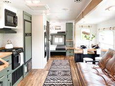 Camper Flooring, Flooring Store, Best Flooring, Vinyl Plank Flooring, Flooring Options, Tiny Living, Rv Living, Caravan Renovation, Luxury Vinyl Plank
