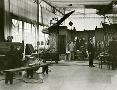 Historic Photograph of Filming Mickey At Mabel Normand Studios