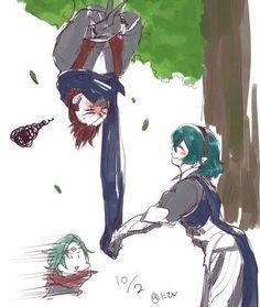 Fire Emblem: if/Fates - Kaze x Kamui x Saizou