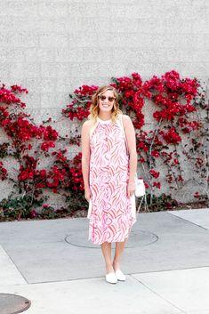 Halter Neck Dress styled by popular Los Angeles fashion blogger, The Fashionista Momma Halter Neck, Zara, Popular, Summer Dresses, Beautiful, Style, Fashion, Swag, Moda